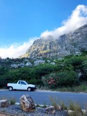 Tafelberg in de wolken